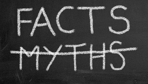 Top 5 Myths that are not True