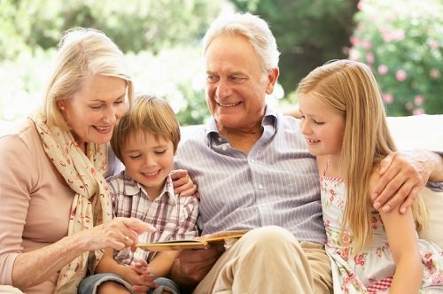 Why Grand Parents and Children Bond is Important