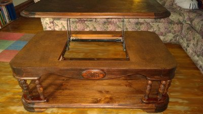How To Refinish Antique Wood Coffee Table