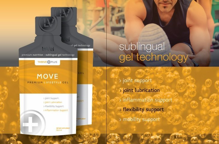 Lubricate your joints with the Thrive Plus SGT Move