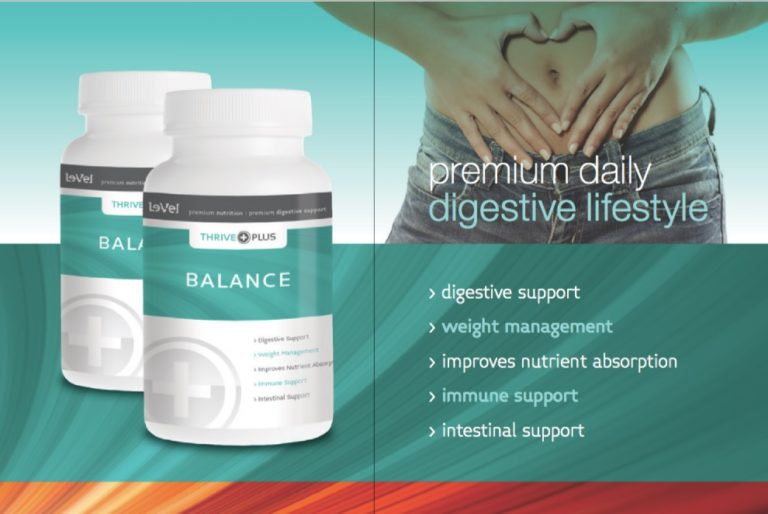 Maintain the right body balance with Thrive plus Balance