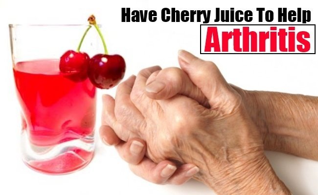 Cherry Juice Can Alleviate Arthritis