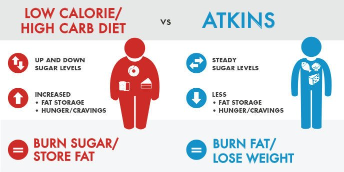 10 Lies About The Atkins Diet – Lie #7: The Atkins diet causes faster and greater FAT loss than conventional diets