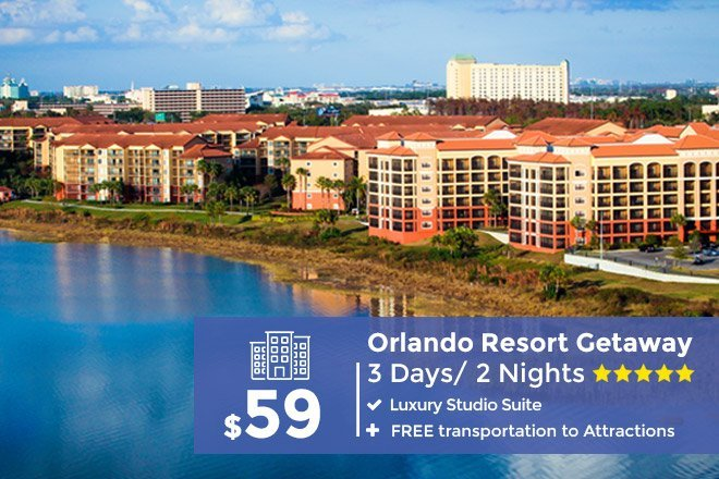 3-Day/2-Night Orlando Resort Getaway – Limited Time Offer $59