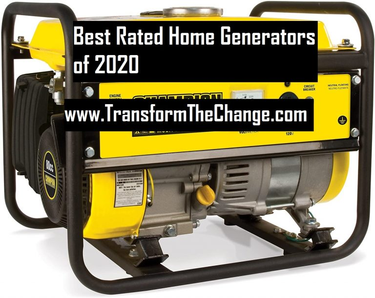 Best Rated Home Generators Of 2020
