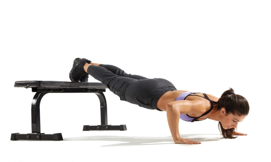 decline push up