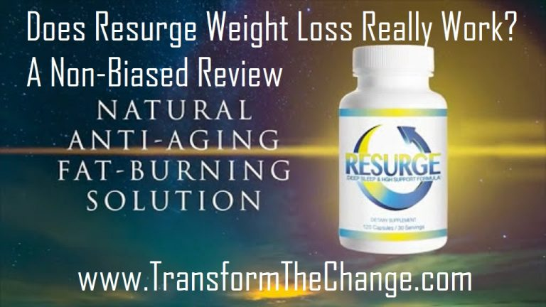 Resurge #1 Weight Loss Fat Burner – A Non Biased Review