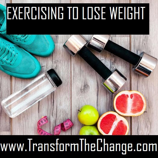 EXERCISING TO LOSE WEIGHT