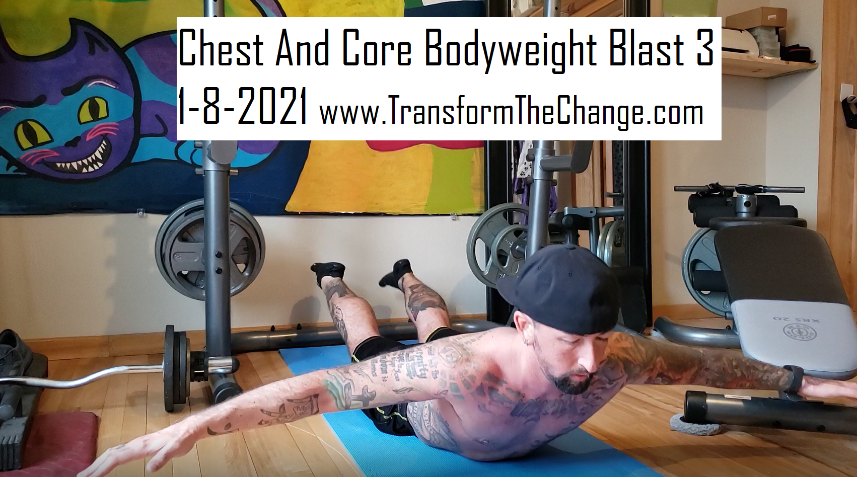 Chest And Core Bodyweight Blast 3 1-8-2021