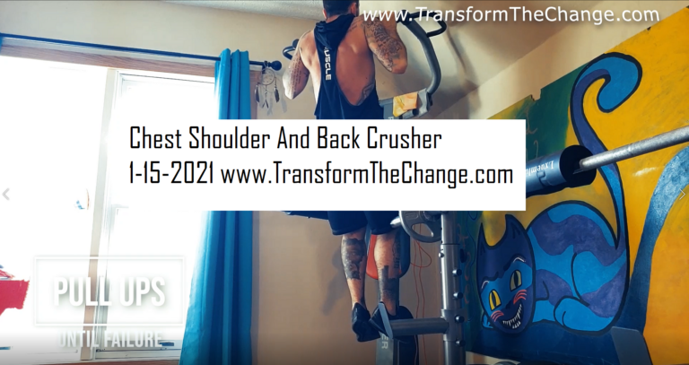 Read more about the article Chest Shoulder And Back Crusher 1-15-2021