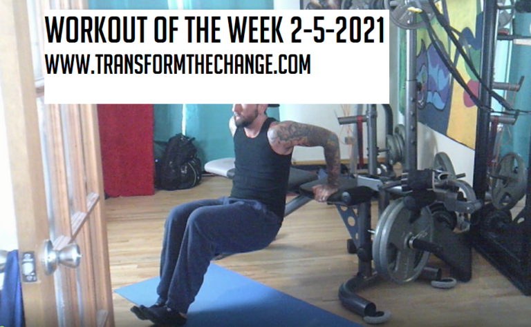 Workout Of The Week 2-5-2021