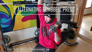 Upper Body Workout With Dumbbells 2-12-2021