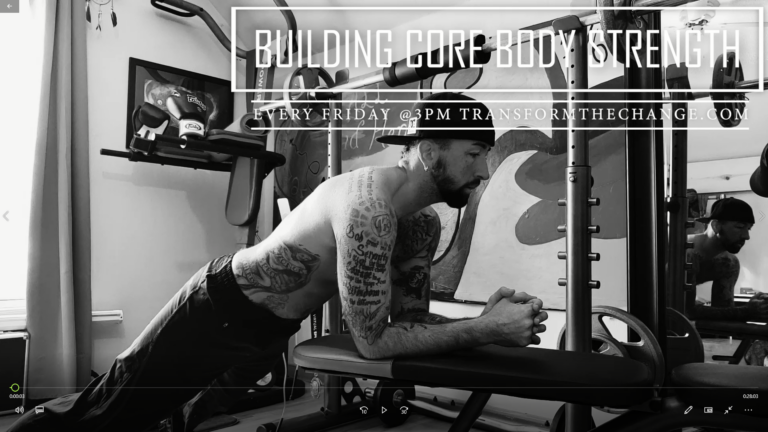 Building Core Body Strength – 3-5-21