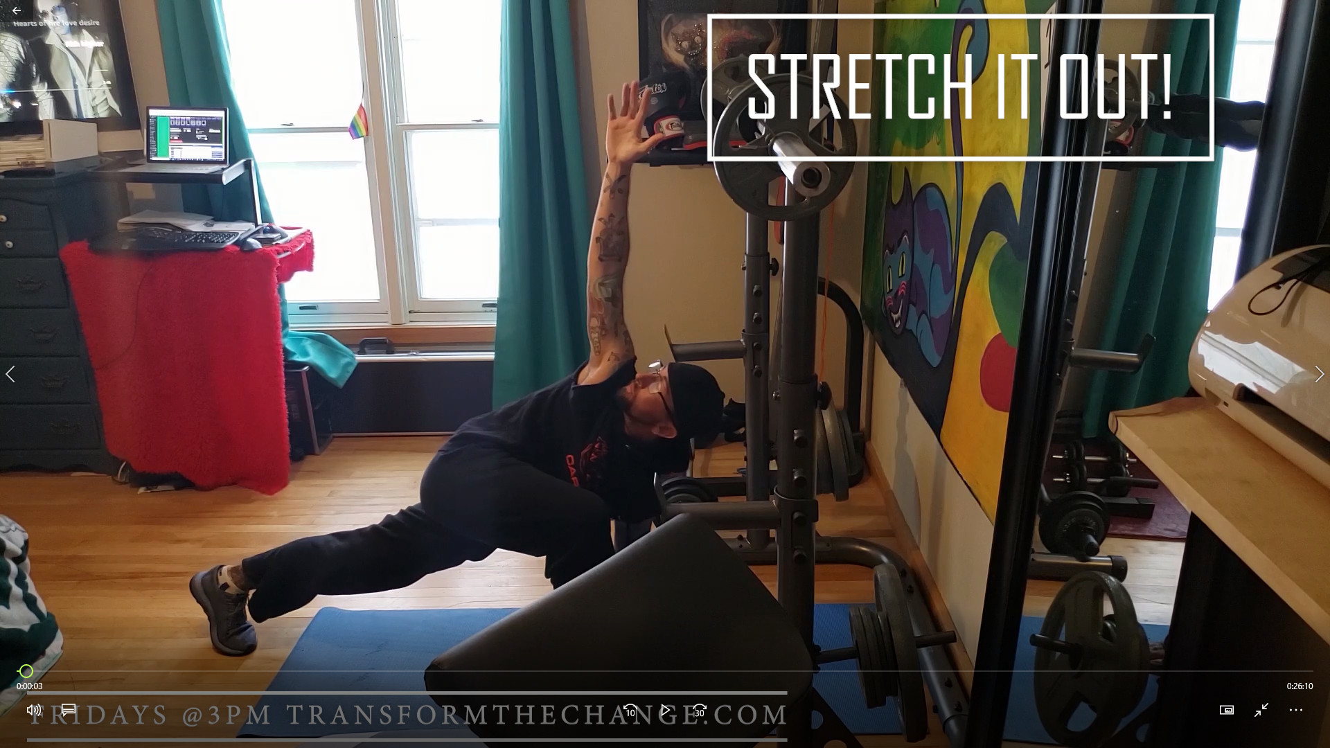 Read more about the article At Home Workout 5-21-2021